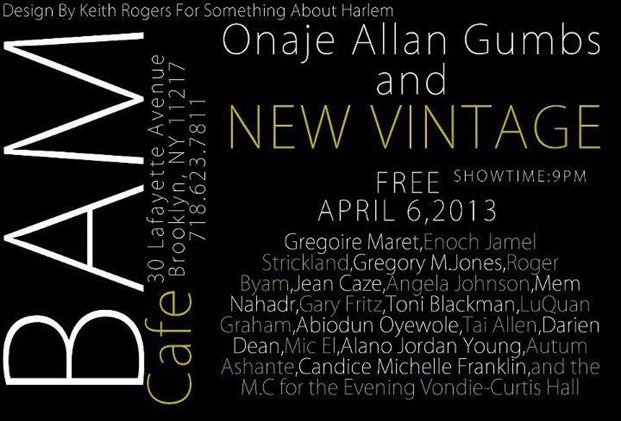 Onaje Allan Gumbs Show at BAM Cafe[1]